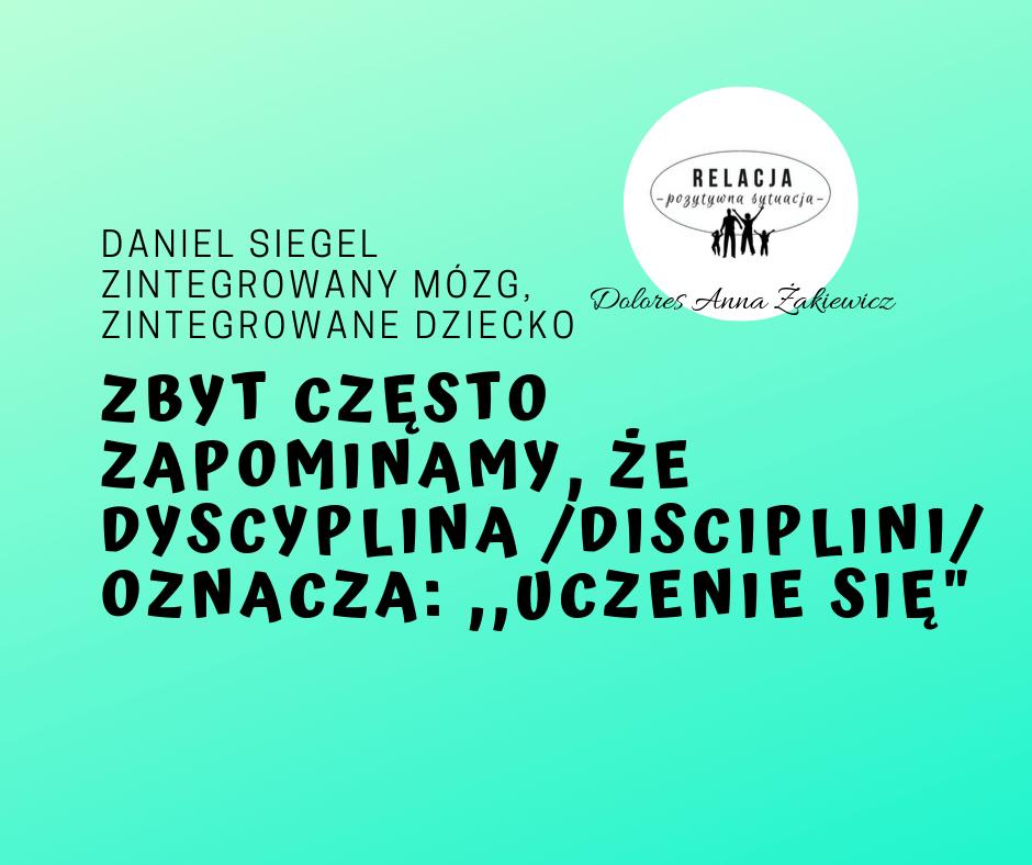 Pozytywna dyscyplina-  czym właściwie jest.
